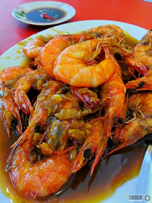 Mouthwatering Buttered Shrimp : nyum!!