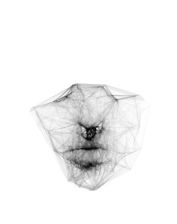 sergioalbiac:  Unreleased thoughts - Generative portrait random variations www.sergioalbiac.com facebook