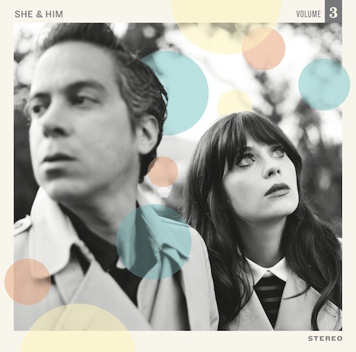 SHE & HIM ANNOUNCE VOLUME 3  In stores May 7th Track listing for Volume Three:1. I've Got Your Number, Son2. Never Wanted Your Love3. Baby4. I Could've Been Your Girl5. Turn to White6. Somebody Sweet to Talk To7. Something's Haunting You8. Together9. Hold Me, Thrill Me, Kiss Me10. Snow Queen11. Sunday Girl12. London13. Shadow of Love14. Reprise (I Could've Been Your Girl)