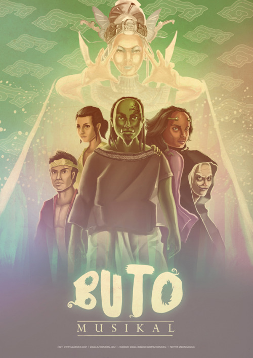 a teaser poster i made for BUTO Musikal. a theatrical project that recite the alternate story about Timun Mas ; an epic indonesian's folklore.. soon in June 2013!