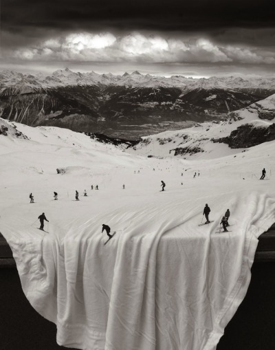 photojojo:  Thomas Barbèy's surrealist photos are a combination of sandwiching negatives, planning double-exposures, or re-photographing collaged photos. Most of his photos were shot with either a Mamiya RB67 or a Canon AE-1. Thomas Barbè y's Analog Photo Manipulations via NotCot