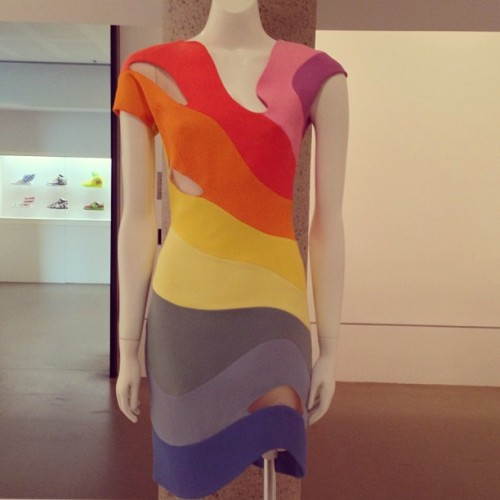 this Therry Mugler dress screams #Spring!