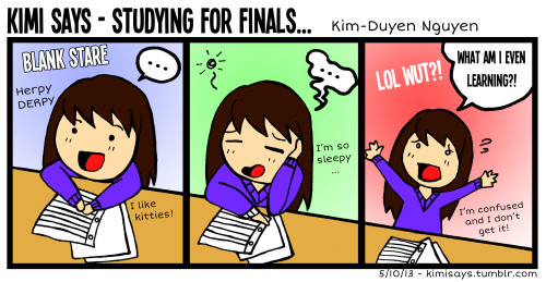 Does this ever happen to you guys when you guys are studying? lol wut?