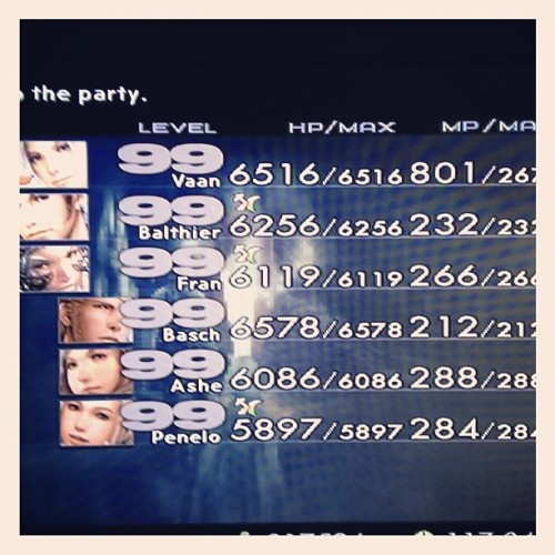 Such a pretty sight ^_^  #ps2 #classic #finalfantasy  (at PB&J's)