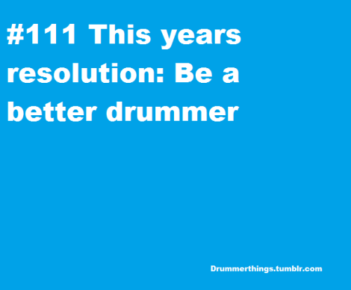 drummerthings:  Happy new year guys!