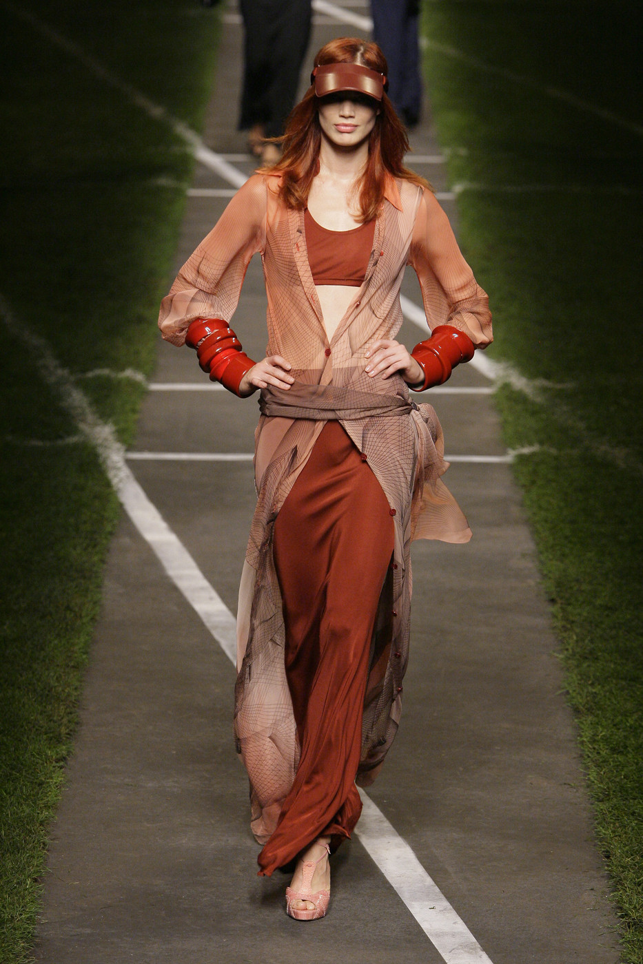 Rianne ten Haken at Hermes SS10 #Rianne ten Haken #hermes#fashion#runway#model#ss10#catwalk