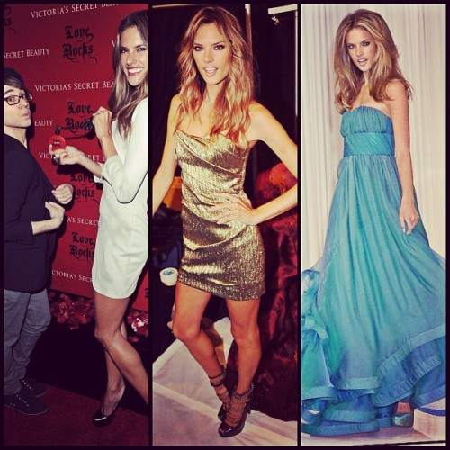 The fabulous Alessandra Ambrosio having a few Siriano moments! Love her. #TBT @alecambrosio