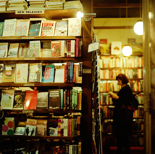 The Paperback Bookshop is an independent general bookshop that was established in the early 1960s at the top of Bourke street and was then one of the few Melbourne bookshops to sell a good selection of Australian and imported books, particularly paperback editions of books not commonly available in Melbourne. (by Diego DeNicola)