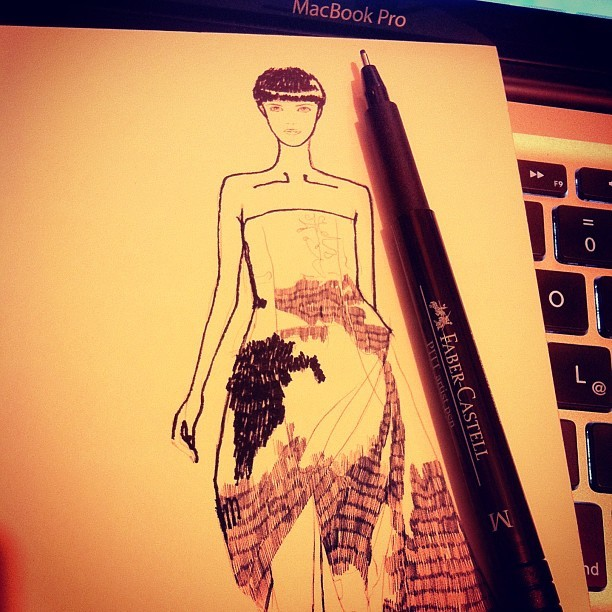 Scribble scribble tonight @marykatrantzou  #fashion #illustration  #sketch #dress #marykatrantzou #mitika #mitikasillustrations #inspiration #drawing #art #blackandwhite #beautiful #ink #mitikachohan #tweegram  #instagood  #love  #iphonesia #photooftheday  #instamoode  #igers #iphoneonly  #iphoneonly  #instagramhub #picoftheday  #jj   #instadaily #bestoftheday  #igdaily