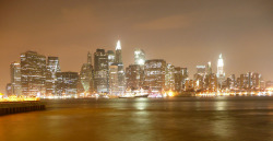 Manhattan skyline (at night) on Flickr.