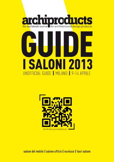 Download the guide of the 2013 Salone del Mobile, that's the easiest means to find your way at the Saloni and find the stands of your favorite companies!Download it now: http://bit.ly/ZaptTn