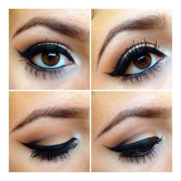 Eye makeup   ❤ liked on Polyvore (see more brown eyeshadows)