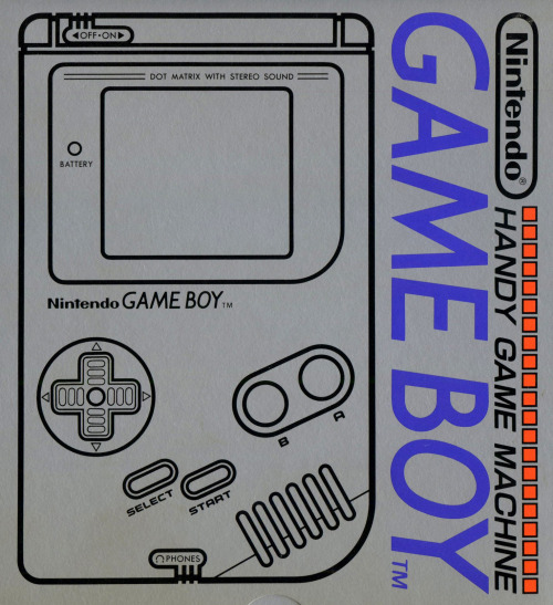 hydao:  Game Boy (Japanese box, 1989)  THE FUTURE IS NOW!