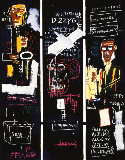 Horn Players. 1983 Jean-Michel Basquiat