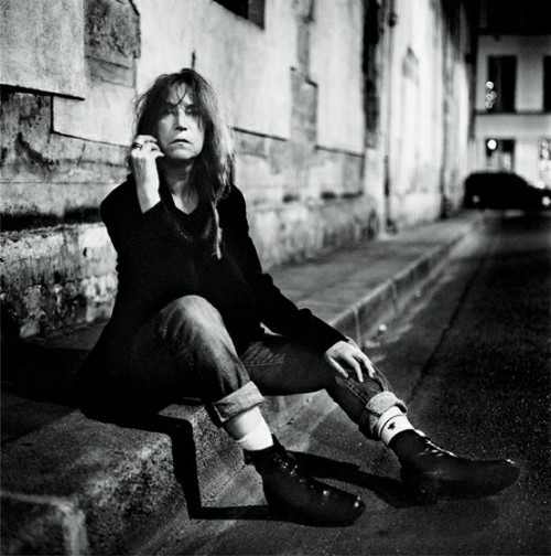 Patti Smith by Anton Corbijn, Paris, 2011
