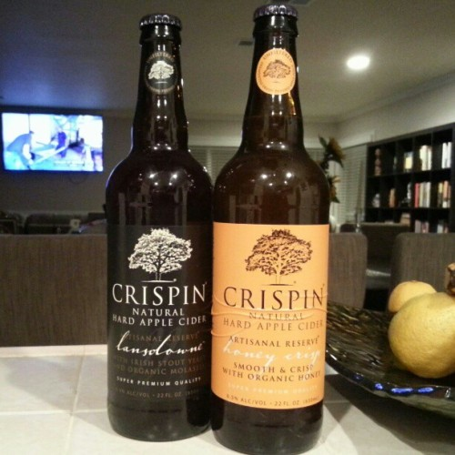 No beer for 40 days. #Crispin #hardcider #nightcap