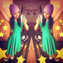 @jazzminefarol looking beautiful in her lavender #mooncult beanie🌙 Limited available at moonshineapparel.bigcartel.com (at TAG UR PIX #moonshineapparel)