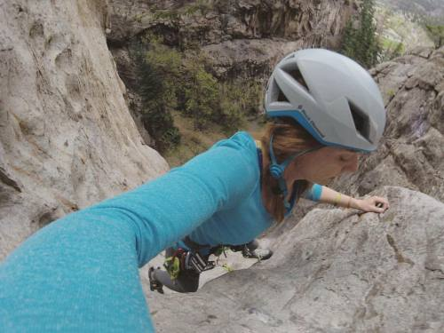 www.boulderingonline.pl Rock climbing and bouldering pictures and news Led some super fun routes in Ouray! Was a blast, but climbing...