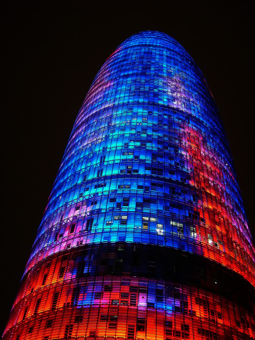 allmyflights:  12.08.2006 agbar tower, Barcelona