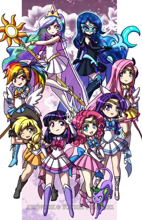 lynlynlora:  My Little Pony Senshi