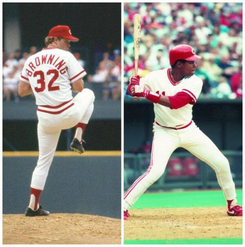 Happy (one day late) birthday to Tom Browning and Barry Larkin!