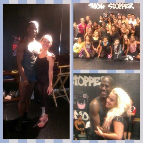 master class tonight with @lloydknight. Thank you for the amazing experience. And thank you @Susiegarcia for providing such an amazing space for us to dance.