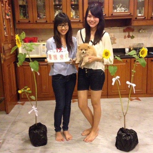 @reginawiriadinata 's sweet seventeenth 😊😘 #birthday #love #bestfriend