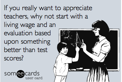 edrethink:  What I really want for Teacher Appreciation Week.
