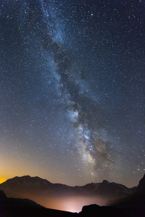 travelingcolors:  Gran Paradiso National Park | Italy (by a galaxy far, far away…)