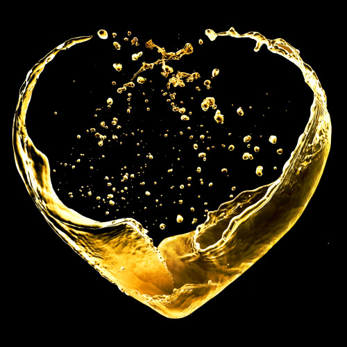 "Happy Valentines Day - Spread Love Valentine's Day heart made of out a gold splash by StudioSmart.  Conveyer Of Cool ""Stay COOL"" Tumblr 
