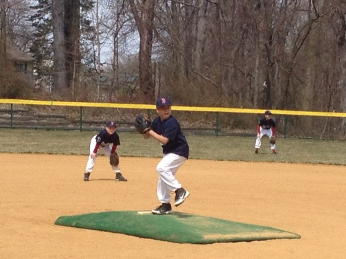 Zach pitching