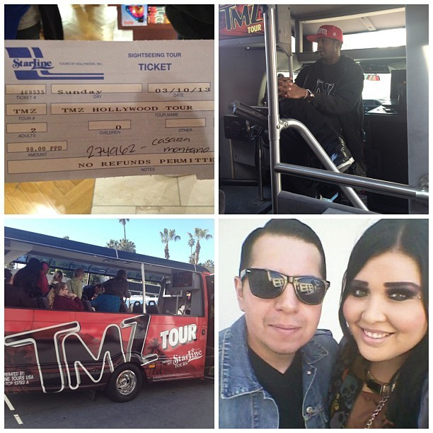 saintpatrickla:  TMZ TOUR with my babe today :) #tmz #tmztour #hollywood (at TMZ Hollywood Tour)