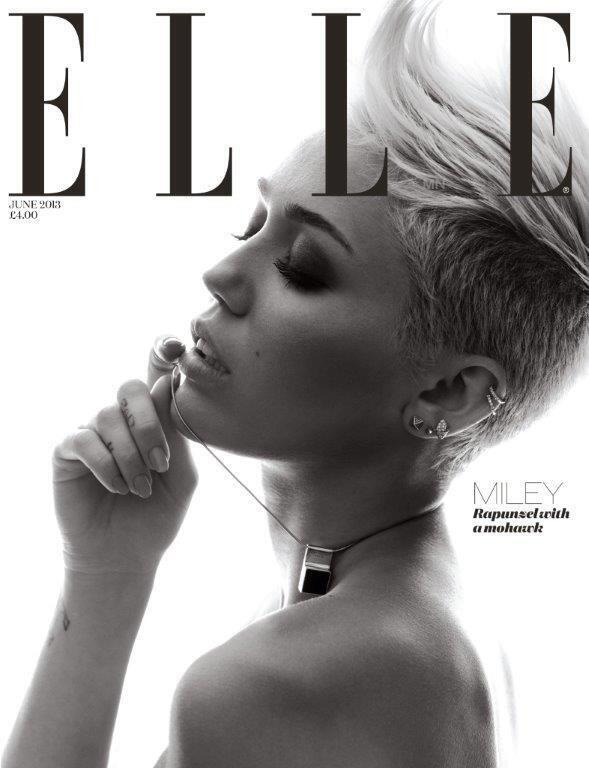 Miley's Second elle cover