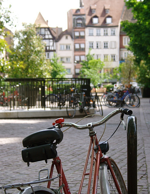 | ♕ |  Strasbourg - the bicycle city in Alsace  | by © penwren