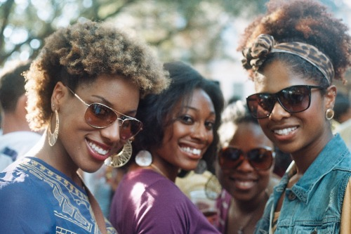 gradientlair:  Beautiful group. :)  Black women are beautiful.