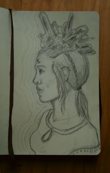 Original graphite drawing in my moleskine  Feel free to follow for more original art and photography: http://marisarenee.tumblr.com/