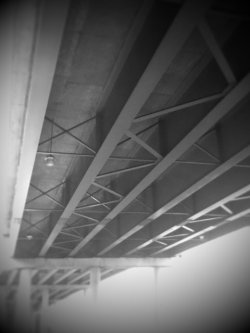 Underside of an Overpass