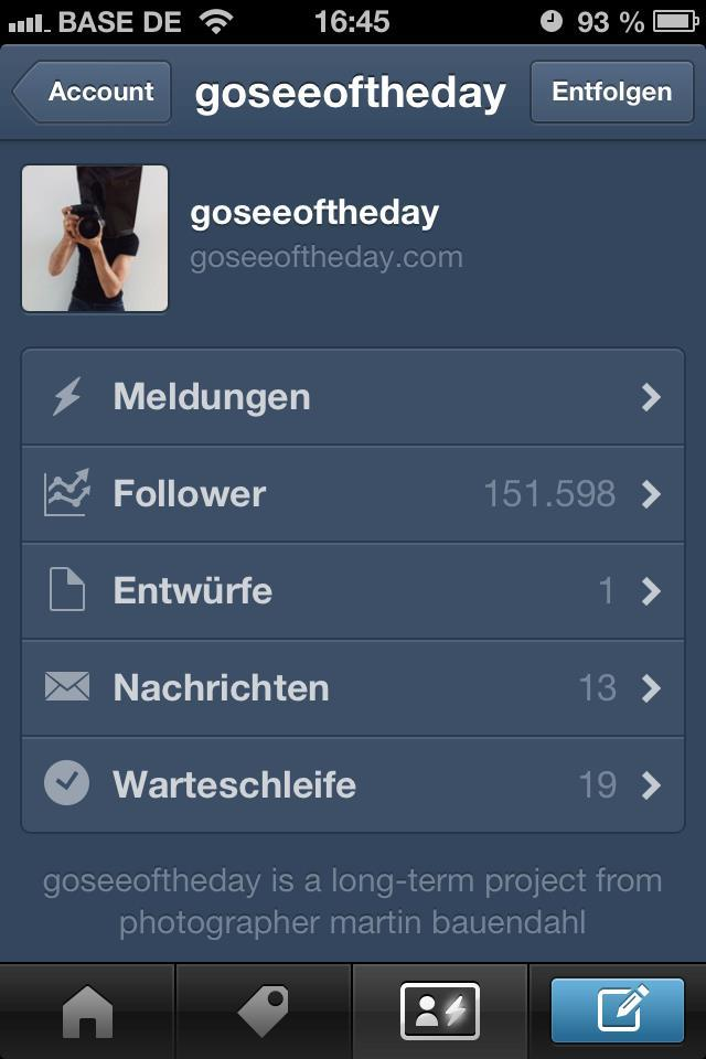 Amazing! More than 150.000 follower on my blog with models: www.goseeoftheday.com !