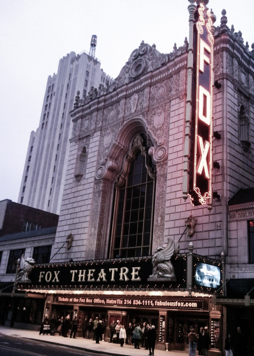 florisr:  the fabulous fox theatre