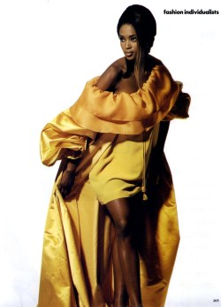 Naomi by Irving Penn, 1991