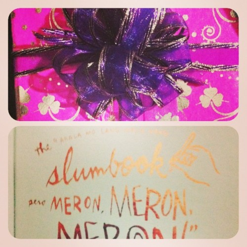 Justeen's #gift! Haha. ❤ Merry Christmas!
