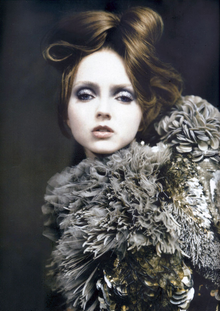 bohemea:  Lily Cole: Atelier Couture - Vogue Italia by Paolo Roversi, March 2007