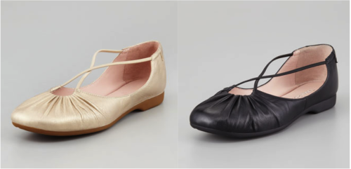 Walk with the grace of a ballerina—without the pain—in this Taryn Rose flat, featuring pretty crisscross straps. Poron® cushioning at insole provides shock absorption and spring back memory. Flexible, supple materials allow the foot to move naturally with the shoe - comfy & adorable!