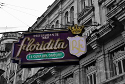 Floridita Walking thru the Streets of Havana. Canon EOS 40D 1/250s ISO 320 f/9.1 La Habana, Cuba Flickr - Twitter - Facebook - Google+ - Posterous - 500px Copyright © BorisJ Photography - Boris Jusseit - all rights reserved - please do not use this image on any media without my permission.