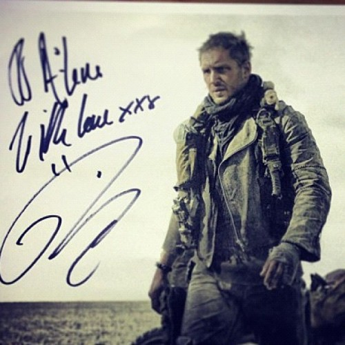 allmyovaries:  charlidos:  Tom as Mad Max! Amazing! (Not sure where it's originally from, found it on instagram.)  ……..wow.