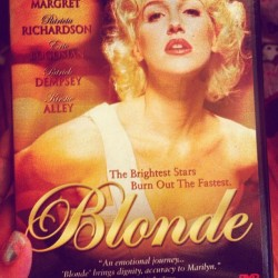 "Y'all don't know shit bout Marilyn Monroe til you see the movie me & @britty_bunss watched last night ❤❤❤😿😿  ""Blonde brings dignity, accuracy to Marilyn."" #weloveyouMarilyn #crazymovie #blonde"