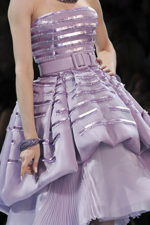 girlannachronism:  Christian Dior fall 2008 couture details