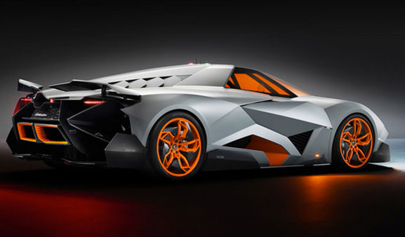 Lamborghini is celebrating its 50th birthday with this: the Egoista concept