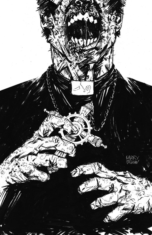 Zombie Priests are pretty much my worst nightmare. By Garry Brown.