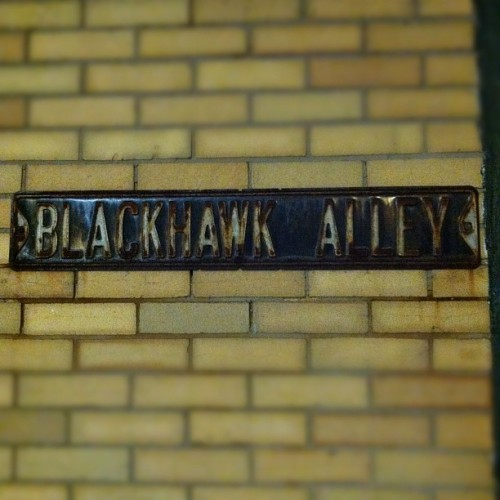 Hangin in Blackhawk Alley (at Blackhawk Alley)